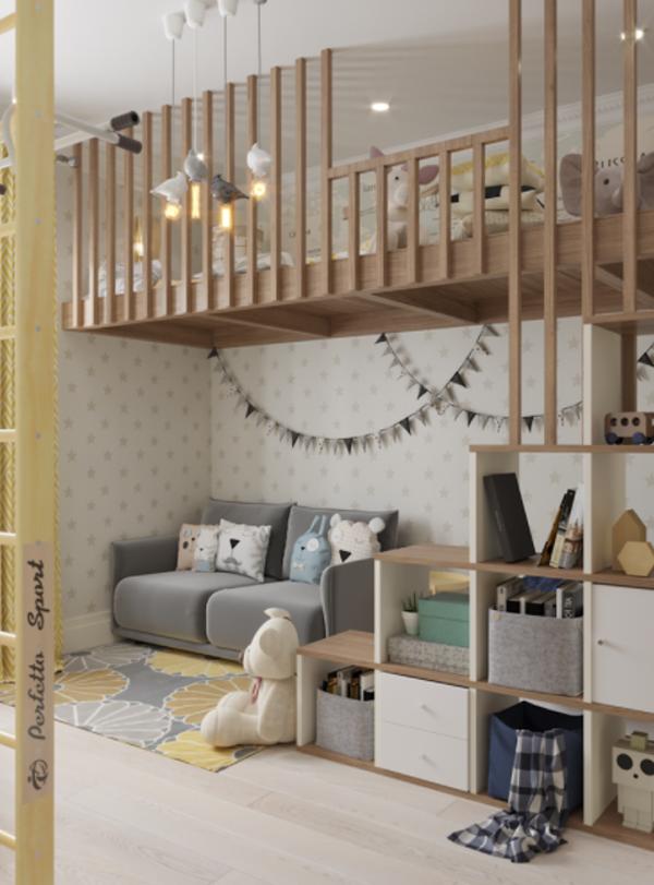 kid-bunk-bed-with-indoor-playground