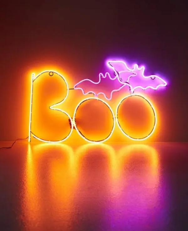 neon-orange-boo-and-pink-bat-sign