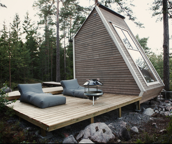 Nido: Tiny Cabin Only 100 Square Foot In Finland