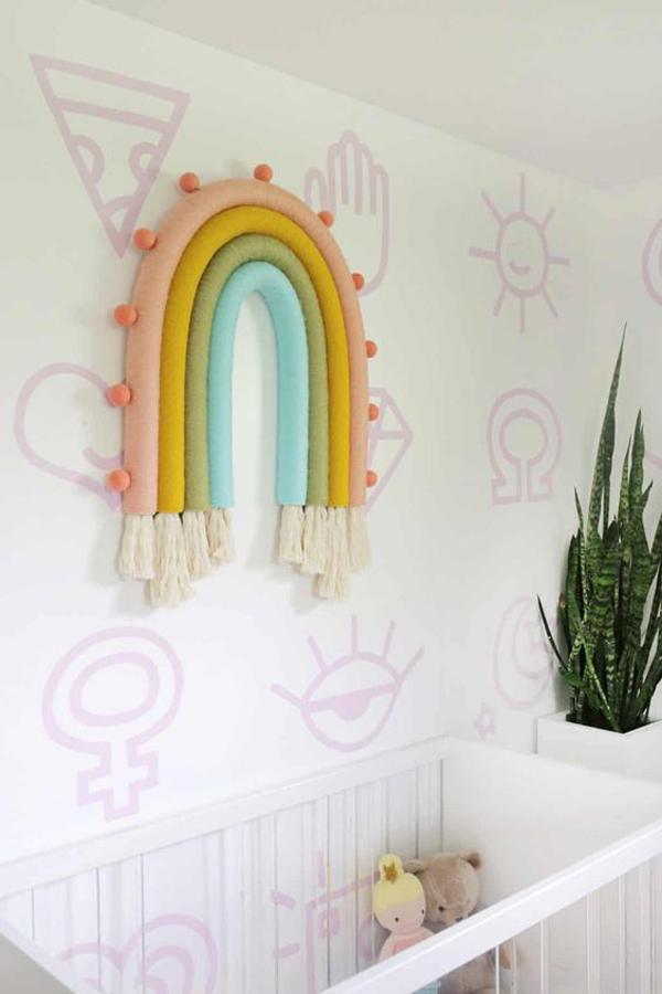 oversized-diy-rainbow-hanging-wall