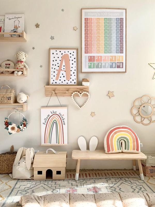 rainbow-wall-art-print-for-kids-room
