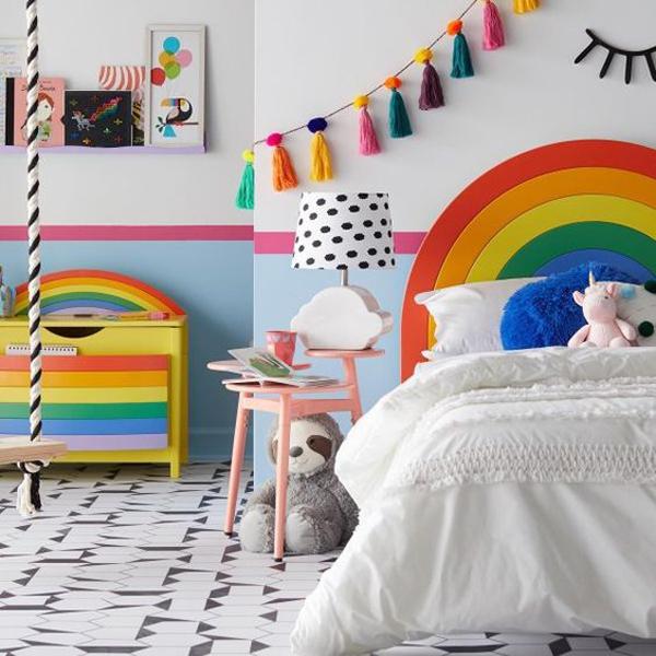 simple-rainbow-kid-bedroom-ideas