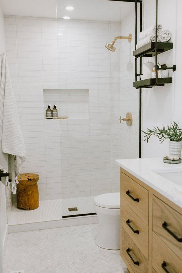 tiny-white-bathroom-with-wooden-furniture