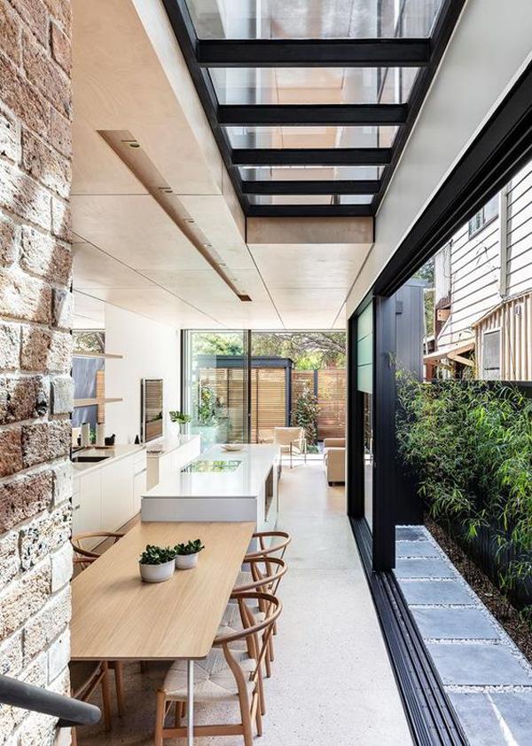 beautiful-open-kitchen-with-skylight