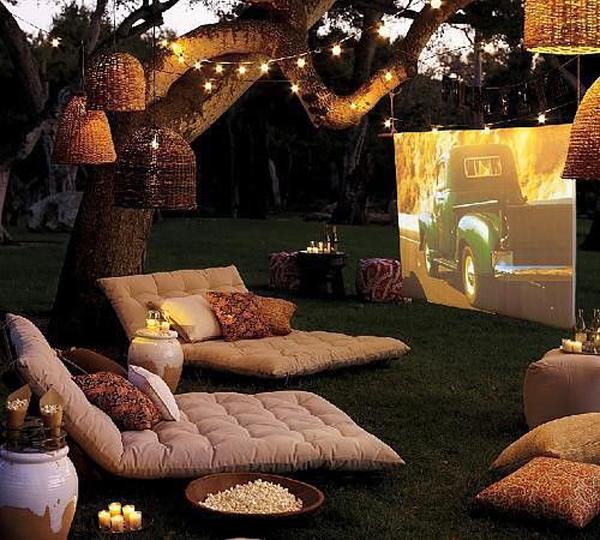 garden-movie-night-with-beanbags