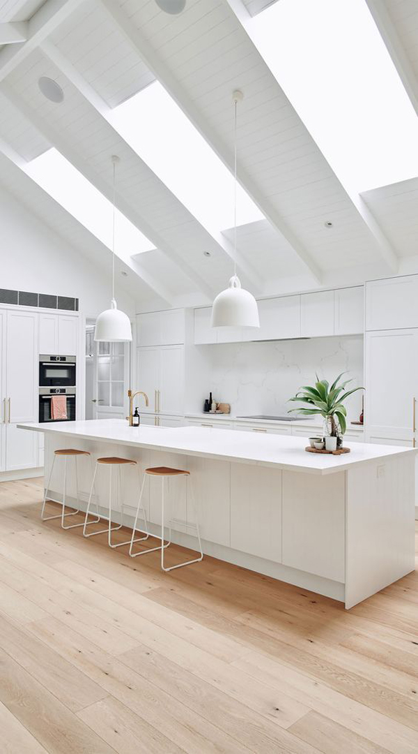 modern-white-kitchens-with-skylight