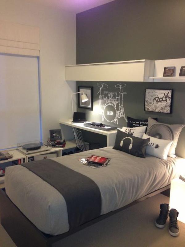 music-teen-boys-bedroom-design