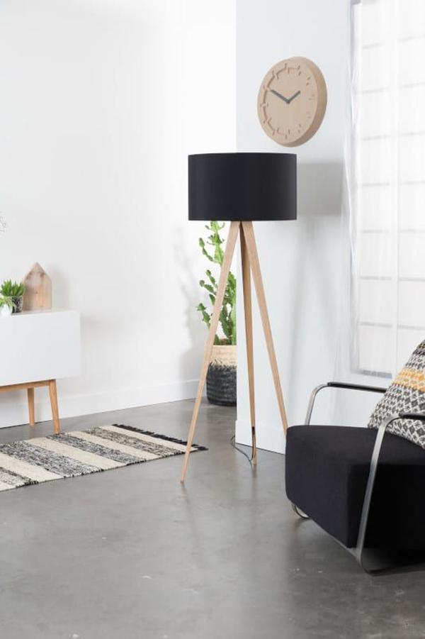 wood-and-black-tripod-floor-lamp-ideas